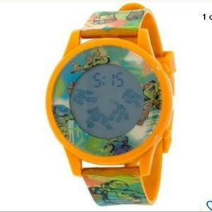 🍄Teenage Mutant Ninja Turtle Watch Animated LCD